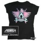 Artec Women's Artec T-Shirt - Black with Pink Artec Crest
