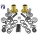 "YA WU-08 - Spin Free Locking Hub Conversion Kit for Dana 30 TJ, XJ, YJ, 30 Spline, 5 x 5.5"" Pattern"