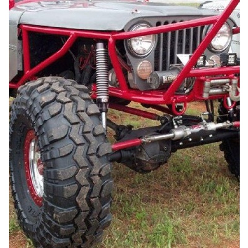 Strut Installed on Jeep Crawler